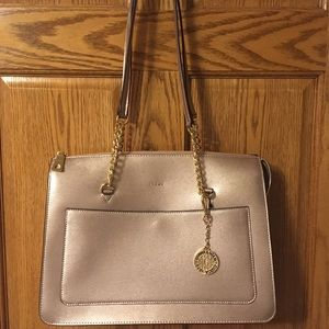 DKNY Champagne colored purse